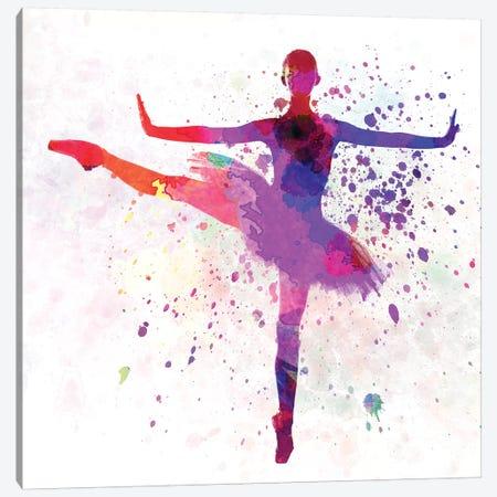 Ballerina Dancing VI Canvas Print #PUR759} by Paul Rommer Canvas Art