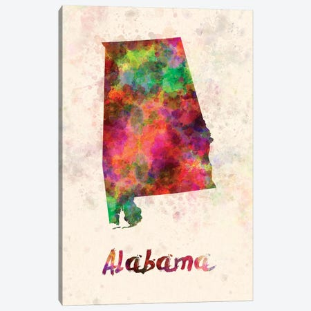 Alabama Canvas Print #PUR7} by Paul Rommer Canvas Art Print