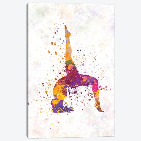 Yoga Femenine III Canvas Print #PUR848} by Paul Rommer Canvas Art