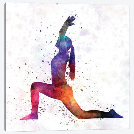 Yoga Femenine IV Canvas Print #PUR849} by Paul Rommer Canvas Art