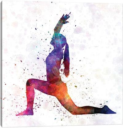 Yoga Femenine IV Canvas Art Print