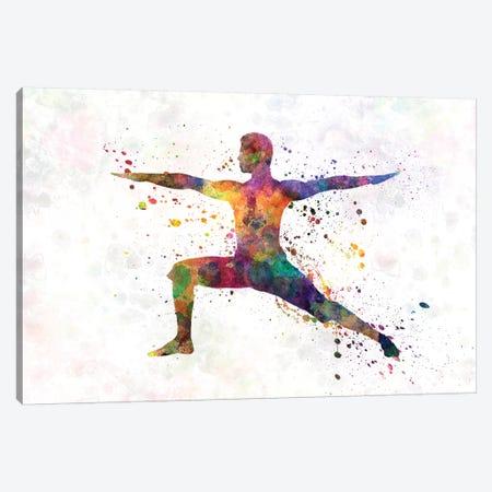 Yoga Masculine I Canvas Print #PUR850} by Paul Rommer Canvas Art Print