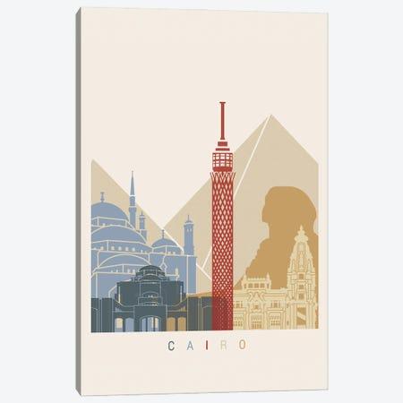 Cairo Skyline Canvas Print #PUR943} by Paul Rommer Canvas Print