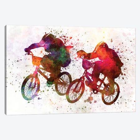 BMX Race I Canvas Print #PUR95} by Paul Rommer Canvas Art