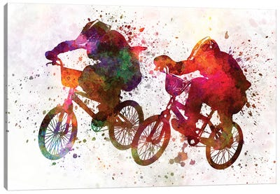 BMX Race I Canvas Art Print