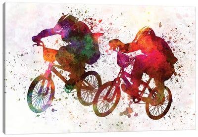 BMX Race I Canvas Art Print