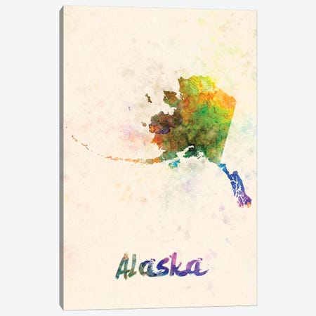 Alaska Canvas Print #PUR9} by Paul Rommer Canvas Art