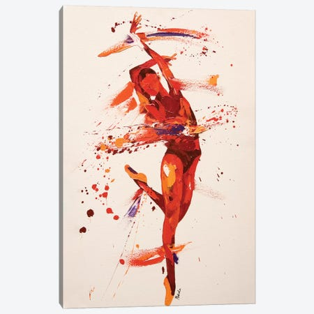 Charisma 3-Piece Canvas #PWA10} by Penny Warden Canvas Art Print