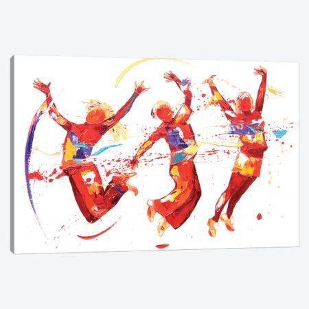 Energy 3-Piece Canvas #PWA16} by Penny Warden Canvas Art