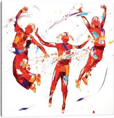 Exhuberence Canvas Art Print