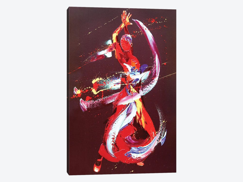 Fire by Penny Warden 1-piece Canvas Artwork