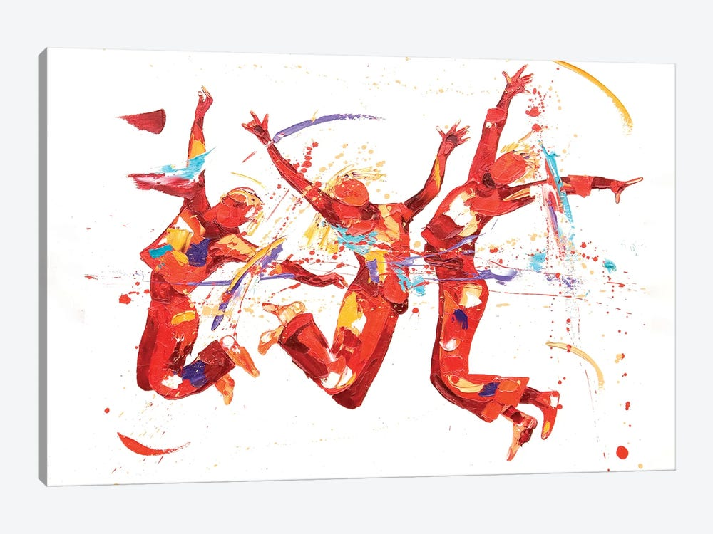 Fizz by Penny Warden 1-piece Canvas Print