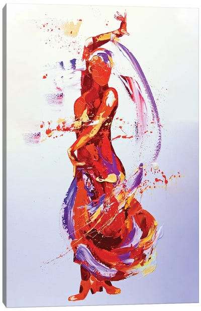 Flamboyance Canvas Art Print