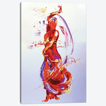 Flamboyance Canvas Print #PWA23} by Penny Warden Canvas Artwork