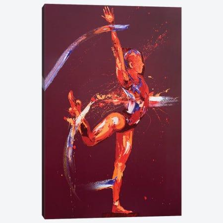Gymnast Nine, 2011 (oil on canvas) Canvas Print #PWA27} by Penny Warden Canvas Art Print