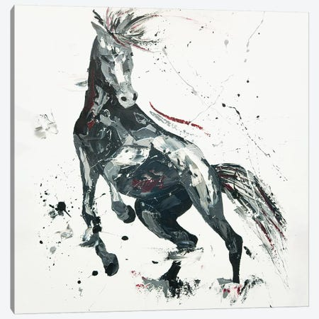 Agitato Fervour, 2014 (oil on canvas board) Canvas Print #PWA2} by Penny Warden Canvas Art