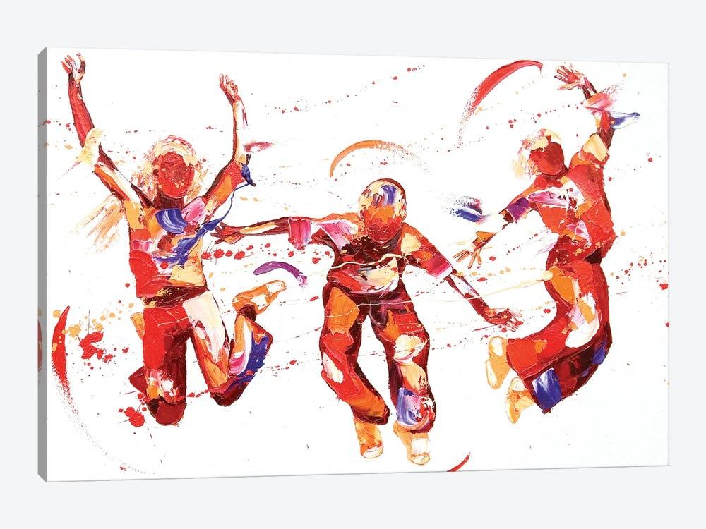 Jump by Penny Warden 1-piece Canvas Artwork