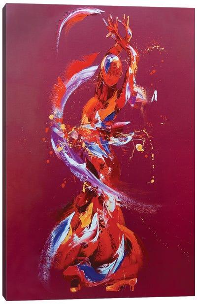 Pizazz Canvas Art Print