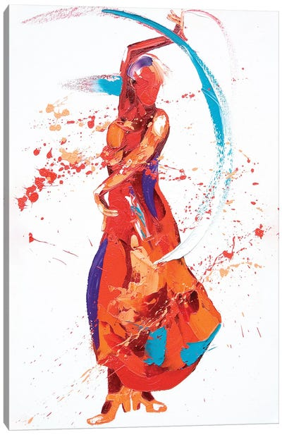Bolero Canvas Art Print