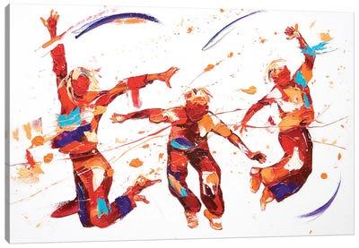 Bounce Canvas Art Print