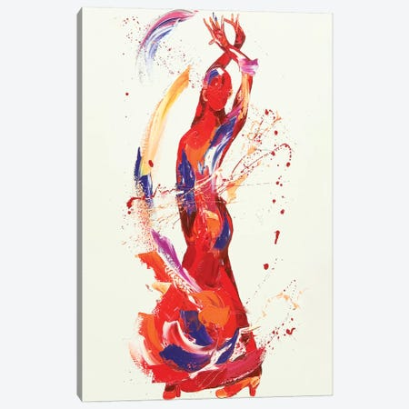 Carmen Canvas Print #PWA9} by Penny Warden Canvas Art