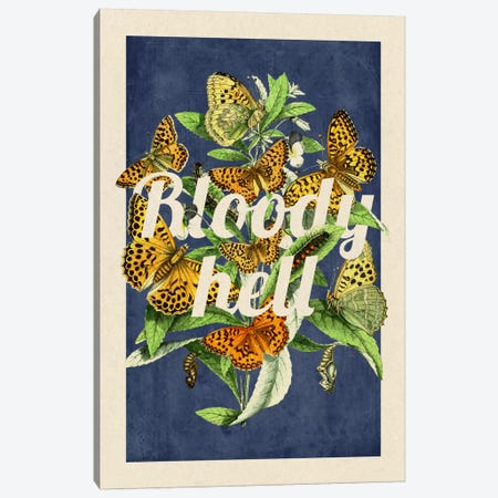 Bloody Hell Canvas Print #PWDS3} by 5by5collective Canvas Art Print
