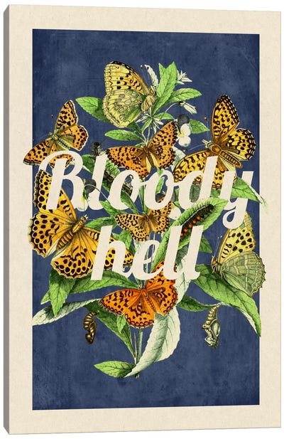 Bloody Hell Canvas Art Print