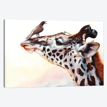 Tall Story Canvas Print #PWI110} by Peter Williams Canvas Art