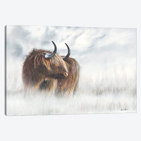 The Highlander Canvas Print #PWI113} by Peter Williams Canvas Wall Art