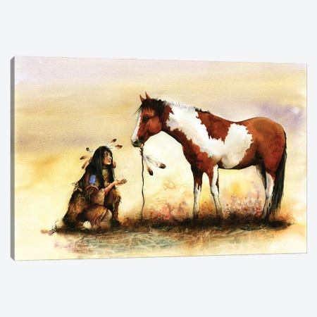 The Gift Canvas Print #PWI114} by Peter Williams Art Print