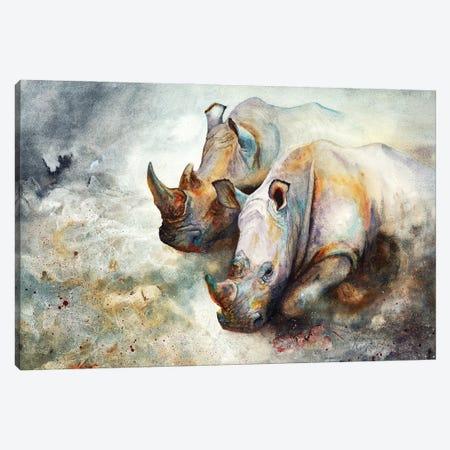 Thunderstruck Canvas Print #PWI121} by Peter Williams Art Print