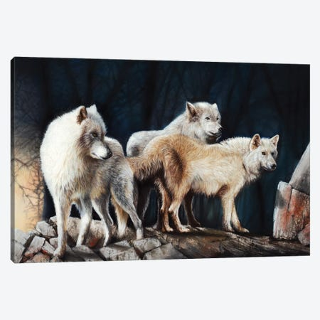 Vanguard Canvas Print #PWI125} by Peter Williams Canvas Wall Art