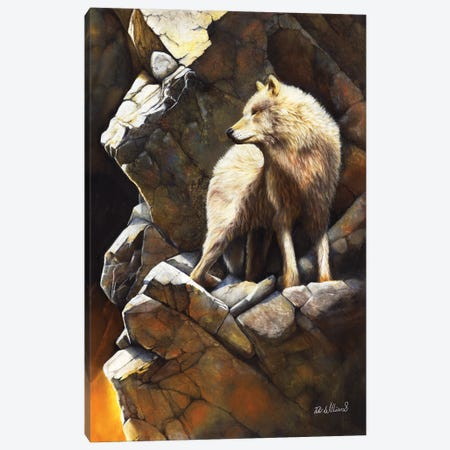 At The Edge Of Time Canvas Print #PWI13} by Peter Williams Canvas Print