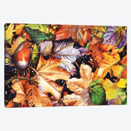 Autumn Blaze Canvas Print #PWI14} by Peter Williams Canvas Artwork