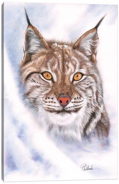 Snowcat Canvas Art Print