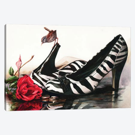 A Walk On The Wild Side Canvas Print #PWI16} by Peter Williams Canvas Artwork