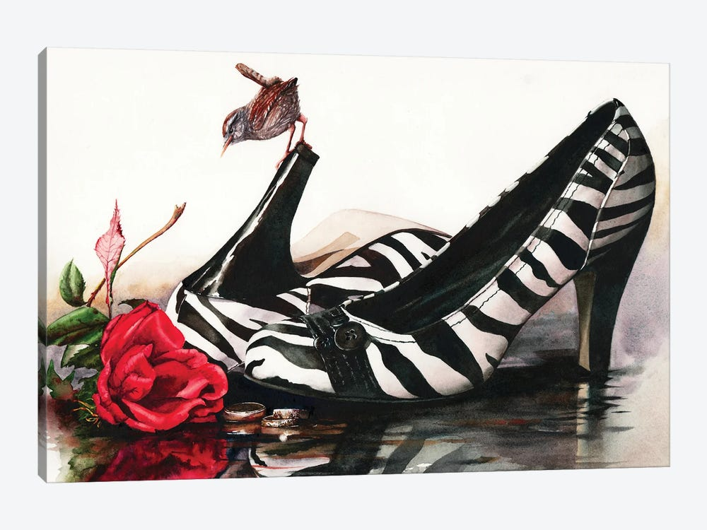 A Walk On The Wild Side by Peter Williams 1-piece Art Print