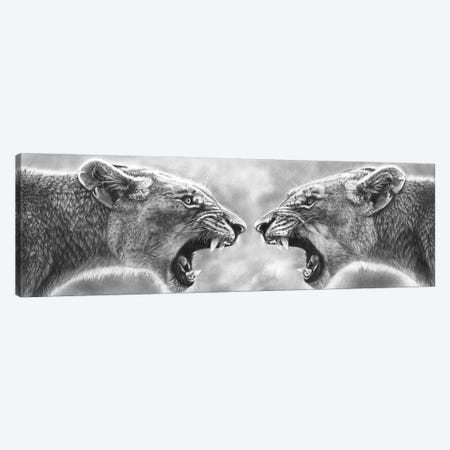 Internal Conflict Canvas Print #PWI201} by Peter Williams Canvas Artwork