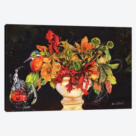 A Splash Of Colour Canvas Print #PWI2} by Peter Williams Canvas Wall Art