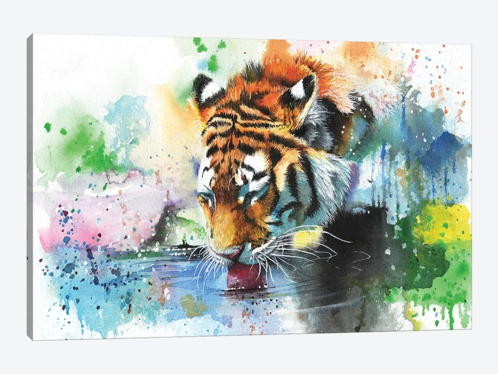 Dousing The Fire by Peter Williams 1-piece Canvas Print