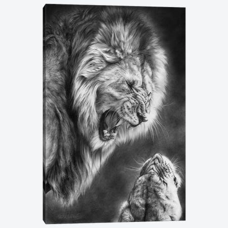 Heat Of The Night Canvas Print #PWI53} by Peter Williams Canvas Print