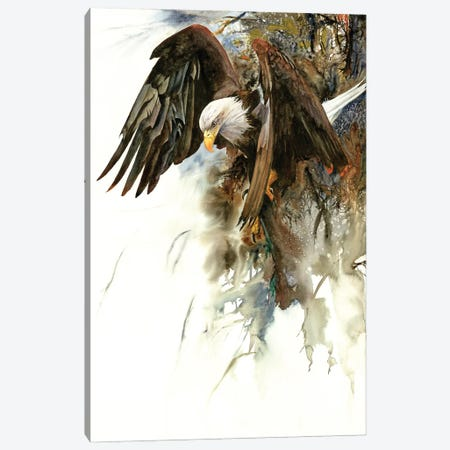 High And Mighty Canvas Print #PWI55} by Peter Williams Canvas Artwork