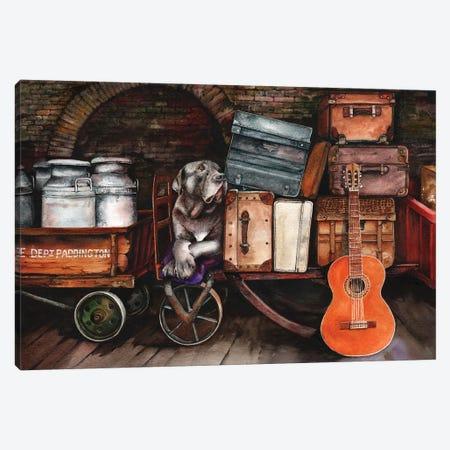 Homeward Bound Canvas Print #PWI57} by Peter Williams Canvas Art