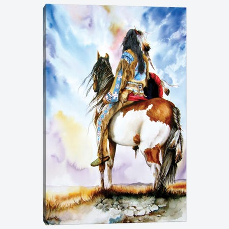 Into The Promised Land Canvas Print #PWI65} by Peter Williams Canvas Print