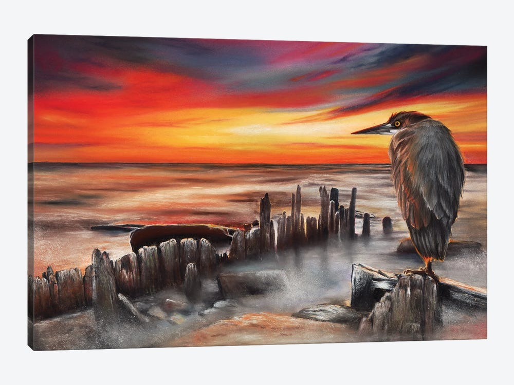 Another Bloody Sunset by Peter Williams 1-piece Canvas Artwork
