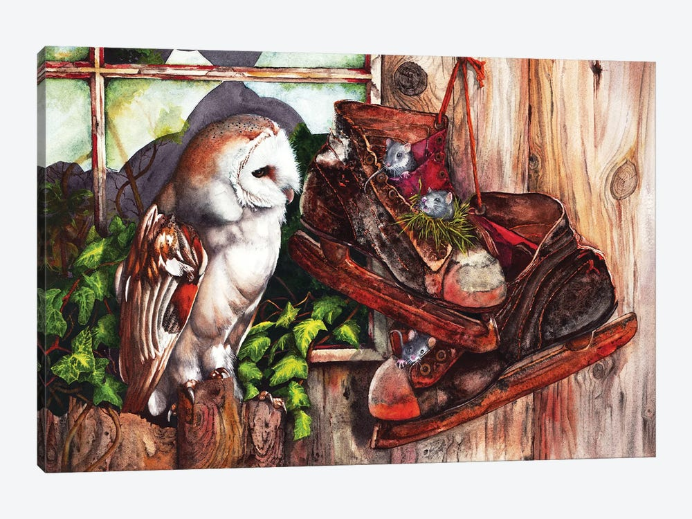 An Unwelcome Visitor by Peter Williams 1-piece Canvas Art Print