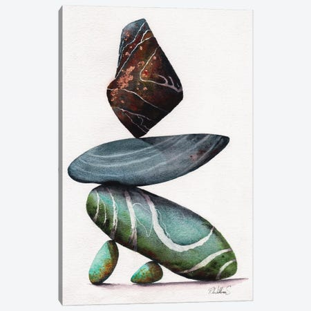 Rock Steady Canvas Print #PWI89} by Peter Williams Canvas Wall Art