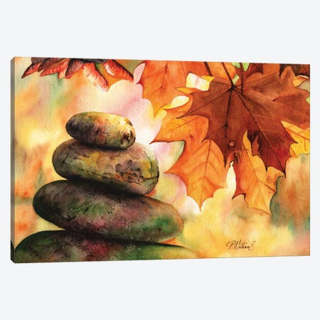 Rock Fall Canvas Print #PWI90} by Peter Williams Canvas Print