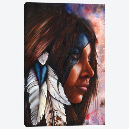 Silent Grace Canvas Print #PWI96} by Peter Williams Canvas Artwork