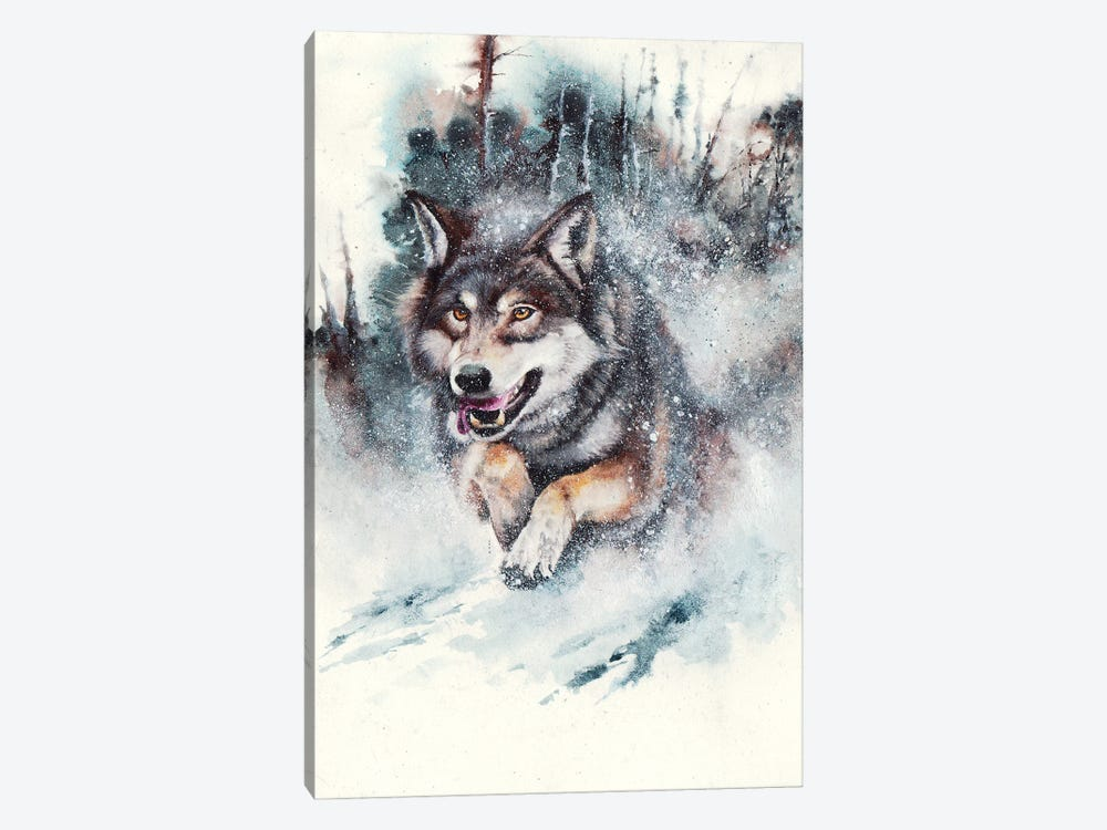 Snow Storm by Peter Williams 1-piece Canvas Wall Art